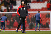 Liverpool Assistant Manager Zeljko Buvac in place of the missing Liverpool Manager Jurgen Klopp  during the Barclays Premier League match between Liverpool and Sunderland at Anfield, Liverpool, England on 6 February 2016. Photo by Simon Davies.