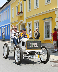 17.07.2010, Groebming, AUT, Ennstal Classic, Chopard Grand Prix Groebming, im Bild Jochim Winkelhock mit einem Opel Rennwagen 1903, EXPA Pictures © 2010, PhotoCredit: EXPA/ J. Groder / SPORTIDA PHOTO AGENCY