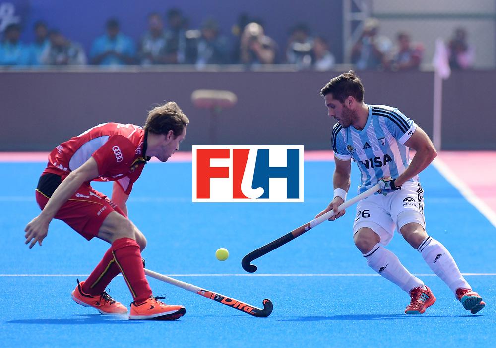 Odisha Men's Hockey World League Final Bhubaneswar 2017<br /> Match id:03<br /> Argentina v Belgium<br /> Foto: Agustin Mazzilli (Arg) <br /> WORLDSPORTPICS COPYRIGHT FRANK UIJLENBROEK