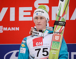 23.03.2014, Planica, Ratece, SLO, FIS Weltcup Ski Sprung, Planica, Siegerehrung, Skisprung, Gesamtwertung, im Bild Peter Prevc 2. Platz Gesamtwertung / Peter Prevc on podium of overall mens FIS Ski jumping Worldcup Cup at Planica in Ratece, Slovenia on 2014/03/23. EXPA Pictures © 2014, PhotoCredit: EXPA/ Newspix/ Irek Dorozanski<br /> <br /> *****ATTENTION - for AUT, SLO, CRO, SRB, BIH, MAZ, TUR, SUI, SWE only*****