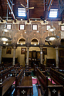 Egypt. Cairo - EL MOALLAQAH - the suspended - church of the virgin  in the old Cairo coptic area  Cairo +