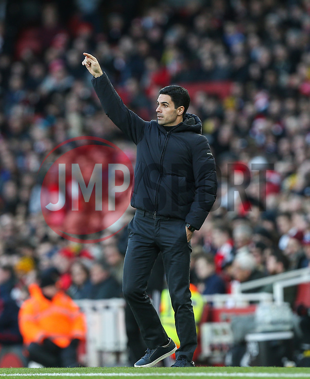 Arsenal manager Mikel Arteta - Mandatory by-line: Arron Gent/JMP - 18/01/2020 - FOOTBALL - Emirates Stadium - London, England - Arsenal v Sheffield United - Premier League