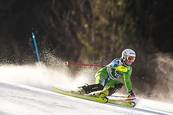 during the Ladies' Slalom at 56th Golden Fox event at Audi FIS Ski World Cup 2019/20, on February 16, 2020 in Podkoren, Kranjska Gora, Slovenia. Photo by Matic Ritonja / Sportida