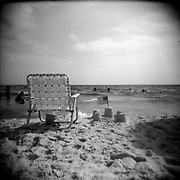 Panama City Beach - Holga 120/Ilford Film