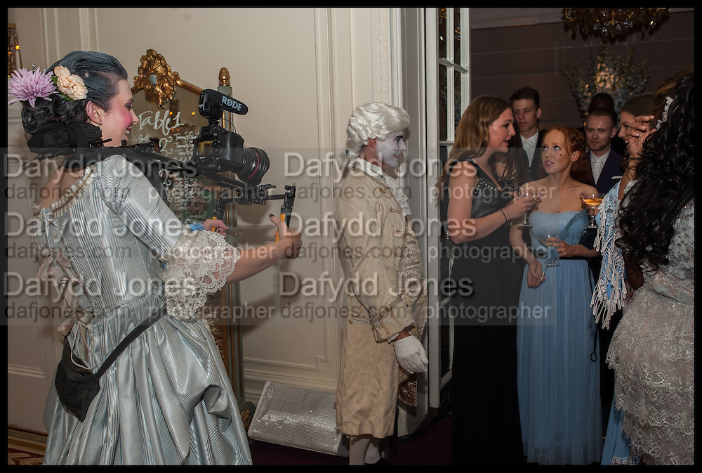 DAISY DICKINSON ( LEFT CAMERA ), Florence Heoluwa 'Cuppy' Otedola Marie Antoinette Graduation party. Mandarin Oriental, Knightsbridge25th of July 2014.