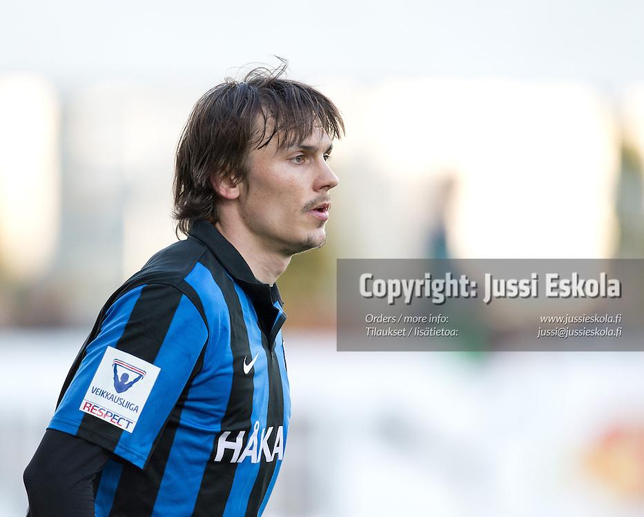 Touko Tumanto. TPS - Inter. Veikkausliiga. Turku, 13.5.2013. Photo: Jussi Eskola