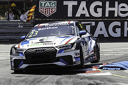 June 23, 2018 - Vila Real, Vila Real, Portugal - Nathanael Berthon from France in Audi RS 3 LMS of Comtoyou Racing in action during the Race 1 of FIA WTCR 2018 World Touring Car Cup Race of Portugal, Vila Real, June 23, 2018. (Credit Image: © Dpi/NurPhoto via ZUMA Press)