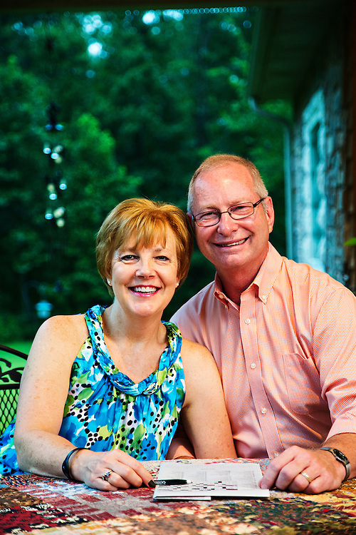 FAYETTEVILLE, ARKANSAS:  Photography for Cityscapes Magazine of Kathey Rhoads and her husband George along with photos of Dr. Michael Cross with the BioZorb.<br /> Photography by Wesley Hitt