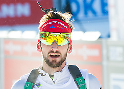 FAK Jakov (SLO) after the Men 15 km Mass Start at day 4 of IBU Biathlon World Cup 2014/2015 Pokljuka, on December 21, 2014 in Rudno polje, Pokljuka, Slovenia. Photo by Vid Ponikvar / Sportida
