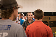 Ag Alumni sponsored Freshmen and transfer student roundup. The event helps students find and learn about clubs and organizations in the College of Agricultural Sciences and Natural Resources.