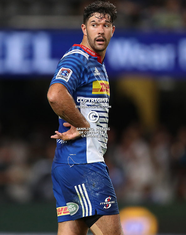 DURBAN, SOUTH AFRICA - MAY 27: EW Viljoen of the DHL Stormers during the Super Rugby match between Cell C Sharks and DHL Stormers at Growthpoint Kings Park on May 27, 2017 in Durban, South Africa. (Photo by Steve Haag/Gallo Images)