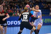 Frederikshavn, Denmark:<br /> IHF Women&acute;s Handball World Championship Denmark 2015<br /> Germany - Norway<br /> <br /> Photographer: Morten Olsen<br /> <br /> Frederikshavn, Danmark:<br /> IHF VM H&aring;ndbold for kvinder Danmark 2015<br /> Tyskland - Norge<br /> <br /> Fotograf: Morten Olsen