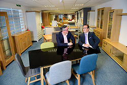 Classic Furniture, a trade-only Lincolnshire-based wholesale furniture supplier, looks set to expand with the support of a funding package worth &pound;1.2 million from HSBC.  Pictured is David Ripping, left, from Classic Furniture and Dan Wilson from HSBC.<br /> <br /> Date: September 22, 2017