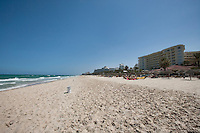 View of beach; Sousse; Tunisia