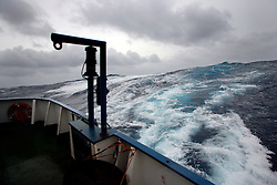 NORTHERN PACIFIC ESPERANZA 22NOV07 - Stormy weather and high seas seen from aboard the MY Esperanza in the northern Pacific...jre/Photo by Jiri Rezac..© Jiri Rezac 2007..Contact: +44 (0) 7050 110 417.Mobile:  +44 (0) 7801 337 683.Office:  +44 (0) 20 8968 9635..Email:   jiri@jirirezac.com.Web:    www.jirirezac.com..© All images Jiri Rezac 2007 - All rights reserved.