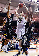 NCAA Basketball - Notre Dame vs Georgetown Hoyas - South Bend, In