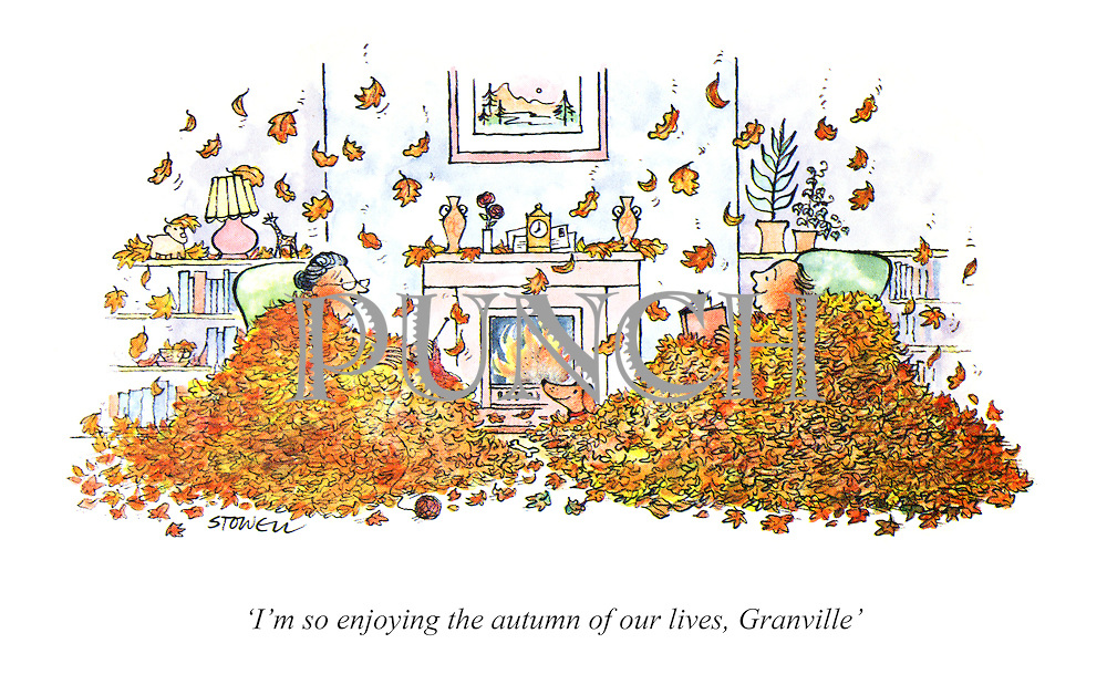 'I'm so enjoying the autumn of our lives, Granville'