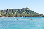 Diamond Head Crater in Honolulu, Hawaii.