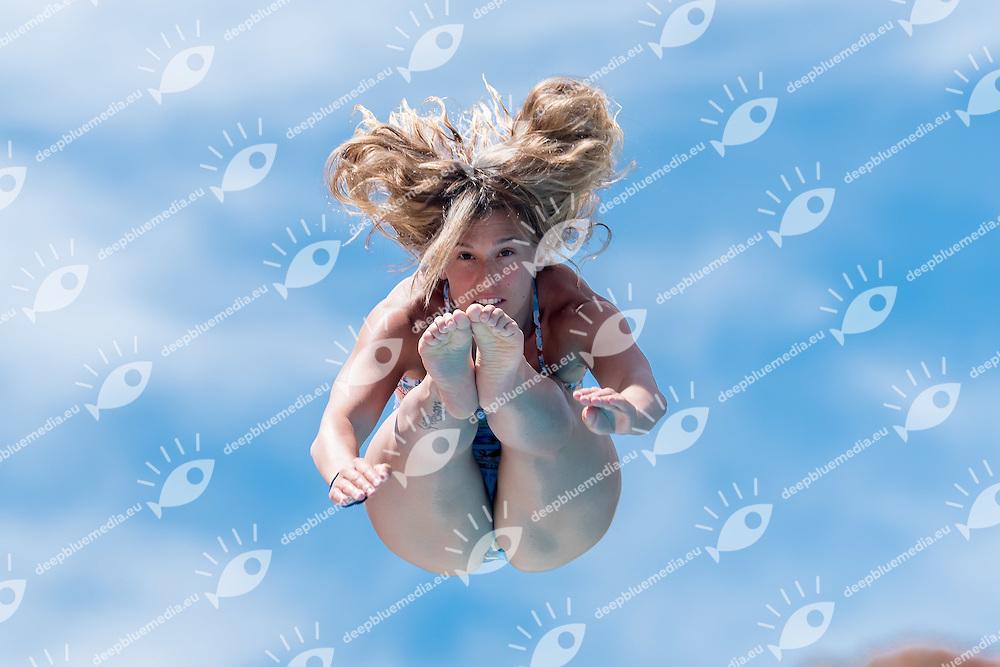 DALLAPE Francesca  Centro Sportivo Esercito<br /> 3m springboard trampolino women<br /> Stadio del Nuoto, Roma<br /> FIN 2016 Campionati Italiani Open Assoluti Tuffi<br /> <br /> day 02  21-06-2016<br /> Photo Giorgio Scala/Deepbluemedia/Insidefoto