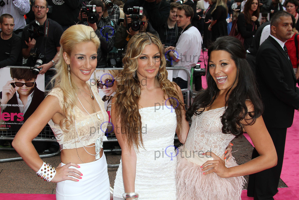 Candy Rock Girl Group; Emily and Katerina Themis; Sophia Port Killers European film premiere, Odeon West End cinema, Leicester Square, London, UK, 09 June 2010. For piQtured Sales contact: Ian@piqtured.com Tel: +44(0)791 626 2580 (Picture by Richard Goldschmidt/Piqtured)
