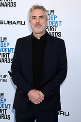 February 23, 2019 - Santa Monica, CA, USA - LOS ANGELES - FEB 23:  Alfonso Cuaron at the 2019 Film Independent Spirit Awards on the Beach on February 23, 2019 in Santa Monica, CA (Credit Image: © Kay Blake/ZUMA Wire)
