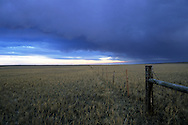 A storm rolls in over the great plains. Charles M. Russell National Wildlife Refuge, Montana.