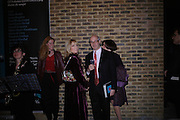 Clarissa Pilkington, Anto Laurent, . Blood Wedding Post - performance party. Count Christophe Gollut's annual fundraising Gala for the Almeida. Islington. London. 17 May 2005. ONE TIME USE ONLY - DO NOT ARCHIVE  © Copyright Photograph by Dafydd Jones 66 Stockwell Park Rd. London SW9 0DA Tel 020 7733 0108 www.dafjones.com