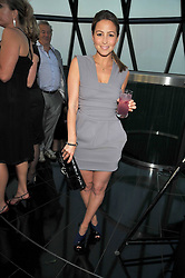 Singer RACHEL STEVENS at the Variety Club gala evening held at The Gherkin, St.Mary Axe, City of London on 2nd July 2009.