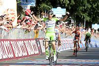 Victoire de Boem Nicola  - Bardiani Csf  - 19.05.2015 - Etape 10 - Giro 2015<br />Photo : Sirotti / Icon Sport