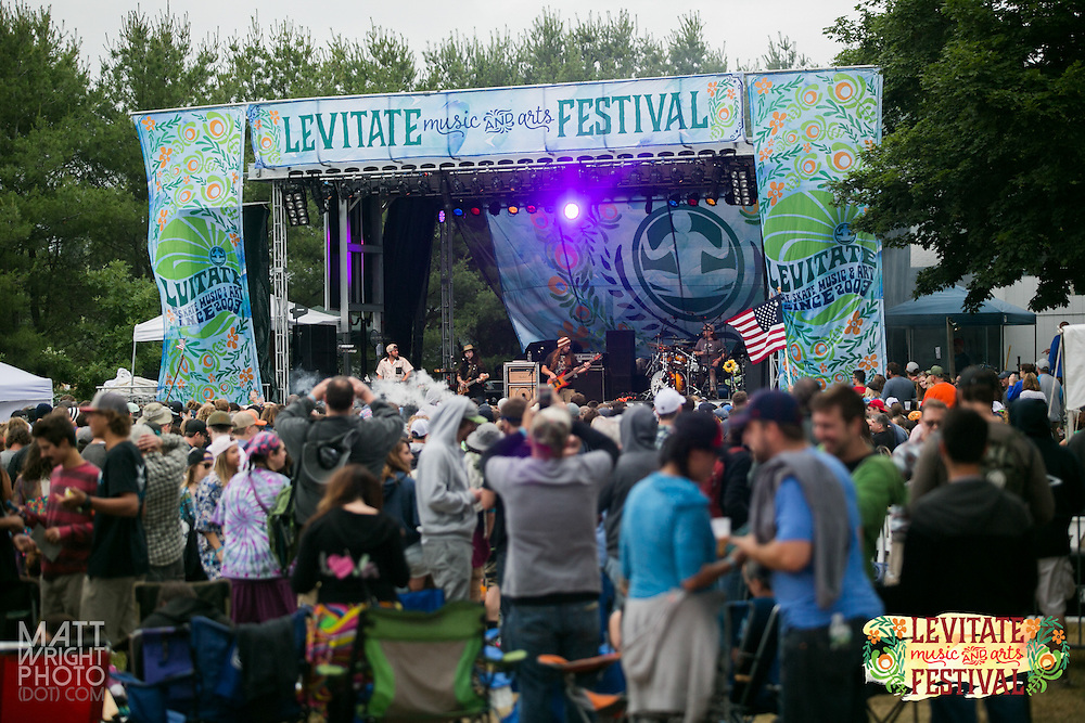 Twiddle performs at Levitate Arts and Music Festival in Marshfield, MA. (Photo Cred: www.mattwrightphoto.com)