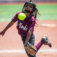 060113       Cable Hoover<br /> <br /> Diamondback Ashley Burriel (1) pitches against the Hurricanes Saturday at Ford Canyon Park.