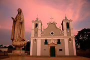 The church of our lady of Populo. Ingreja Da Nossa Senhora Do Populo. Benguela, Angola. Africa.