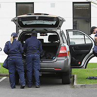 3/12/13  Customs officers at Kilrush garda station after they also took park in yesterday's raids carried out as part of an operation into illegal money lending.  Picture Press 22<br /> <br /> As part of an ongoing investigation into unlawful money lending, Garda' in Clare have arrested 11 people following searches in the Kilrush area of Co. Clare, carried out this morning 3rd December 2013.<br /> The searches, which commenced at 7am this morning, were carried out at a number of premises in the area, including private and business premises and involved local Garda' assisted by Criminal Assets Bureau, Regional Support Unit, Special Dectective Units from Galway, the National Criminal Intelligence Unit as well as offcials from Revenue, Social Welfare and Clare Co. Council.<br /> The arrests include 5 males aged between 55 and 18 yrs, and 6 females aged between 49 and 20 yrs. All those arrested are detained at various Garda Stations in Co Clare, Limerick and Galway under Section 4 of the Criminal Justice Act.<br /> 3/12/13  Customs officers at Kilrush garda station after they also took park in yesterday's raids carried out as part of an operation into illegal money lending.  Picture Press 22<br /> <br /> As part of an ongoing investigation into unlawful money lending, Gardaí in Clare have arrested 11 people following searches in the Kilrush area of Co. Clare, carried out this morning 3rd December 2013.<br /> The searches, which commenced at 7am this morning, were carried out at a number of premises in the area, including private and business premises and involved local Gardaí assisted by Criminal Assets Bureau, Regional Support Unit, Special Dectective Units from Galway, the National Criminal Intelligence Unit as well as offcials from Revenue, Social Welfare and Clare Co. Council.<br /> The arrests include 5 males aged between 55 and 18 yrs, and 6 females aged between 49 and 20 yrs. All those arrested are detained at various Garda Stations in Co Clare, Limerick and Galw