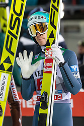 30.12.2018, Schattenbergschanze, Oberstdorf, GER, FIS Weltcup Skisprung, Vierschanzentournee, Oberstdorf, 1. Wertungsdurchgang, im Bild Michael Hayboeck (AUT) // Michael Hayboeck of Austria during his 1st Competition Jump for the Four Hills Tournament of FIS Ski Jumping World Cup at the Schattenbergschanze in Oberstdorf, Germany on 2018/12/30. EXPA Pictures © 2018, PhotoCredit: EXPA/ Peter Rinderer