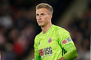 Simon Moore of Sheffield United during the EFL Cup match between Sheffield United and Sunderland at Bramall Lane, Sheffield, England on 25 September 2019.