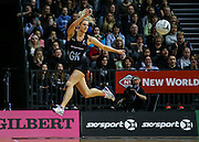 New Zealand's Jane Watson in action during the Netball Quad Series netball match netball match - Silver Ferns v South Africa played at Claudelands Arena, Hamilton, New Zealand on Wednesday 31 August 2016.  <br /> <br /> Copyright Photo: Bruce Lim / www.photosport.nz