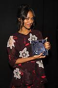 Zoe Saldana with an 11th annual Step Up Inspiration Award