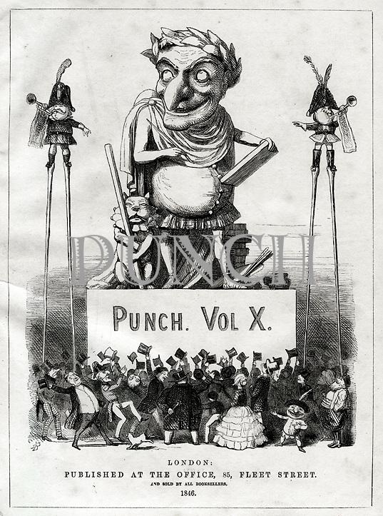 PUNCH magazine Title Page cartoon