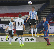 Thomas Konrad heads clear - Inverness Caledonian Thistle v Dundee, SPFL Premiership at Tulloch Caledonian Stadium<br /> <br />  - &copy; David Young - www.davidyoungphoto.co.uk - email: davidyoungphoto@gmail.com