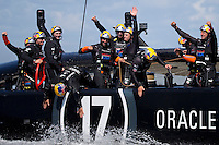 America's Cup 34<br /> Emirates Team New Zealand (NZL) challenger vs Oracle Racing (USA) defender<br /> 9.25.13. Final race of the America's Cup