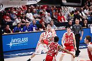 Laquintana, EA7 EMPORIO ARMANI OLIMPIA MILANO vs THE FLEXX PISTOIA, 29^ Campionato Lega Basket Serie A 2017/2018, Mediolanum Forum Assago (MI) 6 maggio 2018 - FOTO: Bertani/Ciamillo