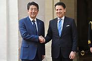 20190424 - Italia-Giappone: premier giapponese Abe oggi in visita a Roma