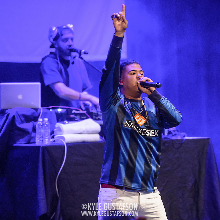 "WASHINGTON, DC - May 2, 2015 - ILoveMakonnen performs at the Howard Theatre in Washington, D.C. His 2014 EP ILoveMakonnen featured the single ""Club Goin' Up on a Tuesday"", which was later remixed by Drake to great acclaim. (Photo by Kyle Gustafson / For The Washington Post)"