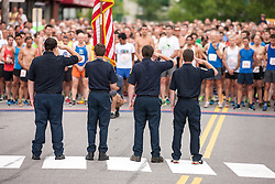 LL Bean Fourth of July 10K road race: national anthem