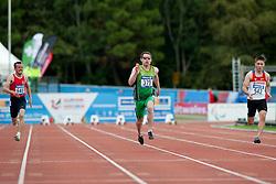 ONER Suat, SMYTH Jason, KUZMIN Andrei, 2014 IPC European Athletics Championships, Swansea, Wales, United Kingdom