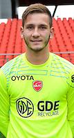 Anthony DUPRE - 19.10.2014 - Portrait Officiel Valenciennes - Ligue 2<br /> Photo : Icon Sport