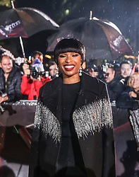 New Coach Jennifer Hudson poses on the red carpet before the Blind Auditions begin for the new series of  The Voice on ITV.