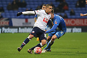 Wellington Silva during the The FA Cup Third Round Replay match between Bolton Wanderers and Eastleigh at the Macron Stadium, Bolton, England on 19 January 2016. Photo by Pete Burns.