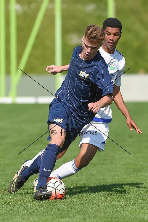 10.09.2016; Zuerich; Fussball FC Zuerich Academy - FC Zuerich U18 - Vaud Lausanne. <br />Dimitri Volkart (Zuerich) <br />(Andy Mueller/freshfocus)