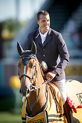 Wathelet Gregory, (BEL), Algorhythem<br /> Winner to the Cana Cup<br /> Spruce Meadows Masters - Calgary 2015<br /> © Hippo Foto - Dirk Caremans<br /> 11/09/15